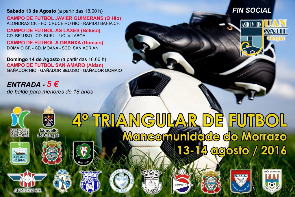 IV Triangular de futbol